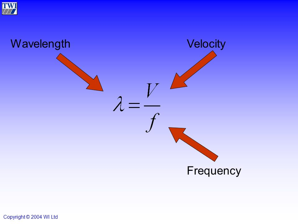 how to find wavelength from velocity