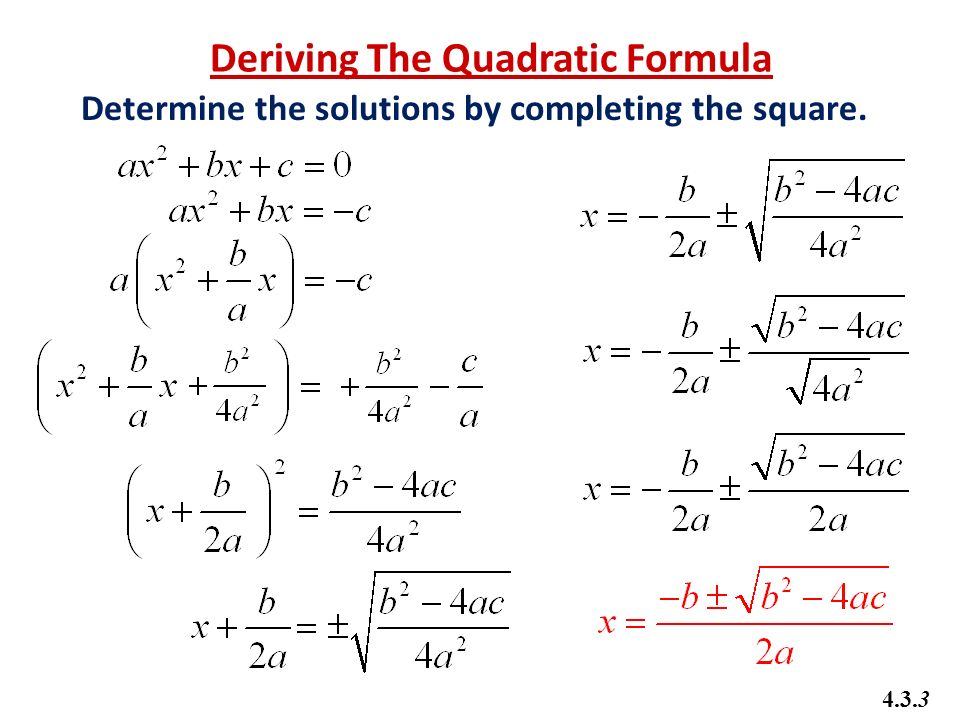 Math 20-1 Chapter 4 Quadratic Equations - ppt video online download