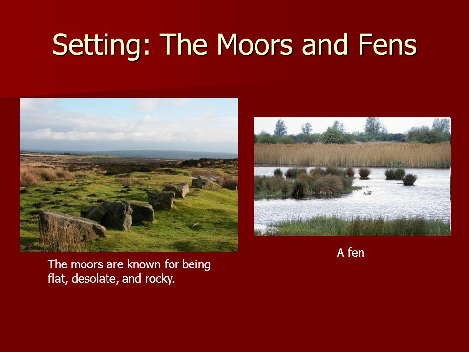 Setting: The Moors and Fens