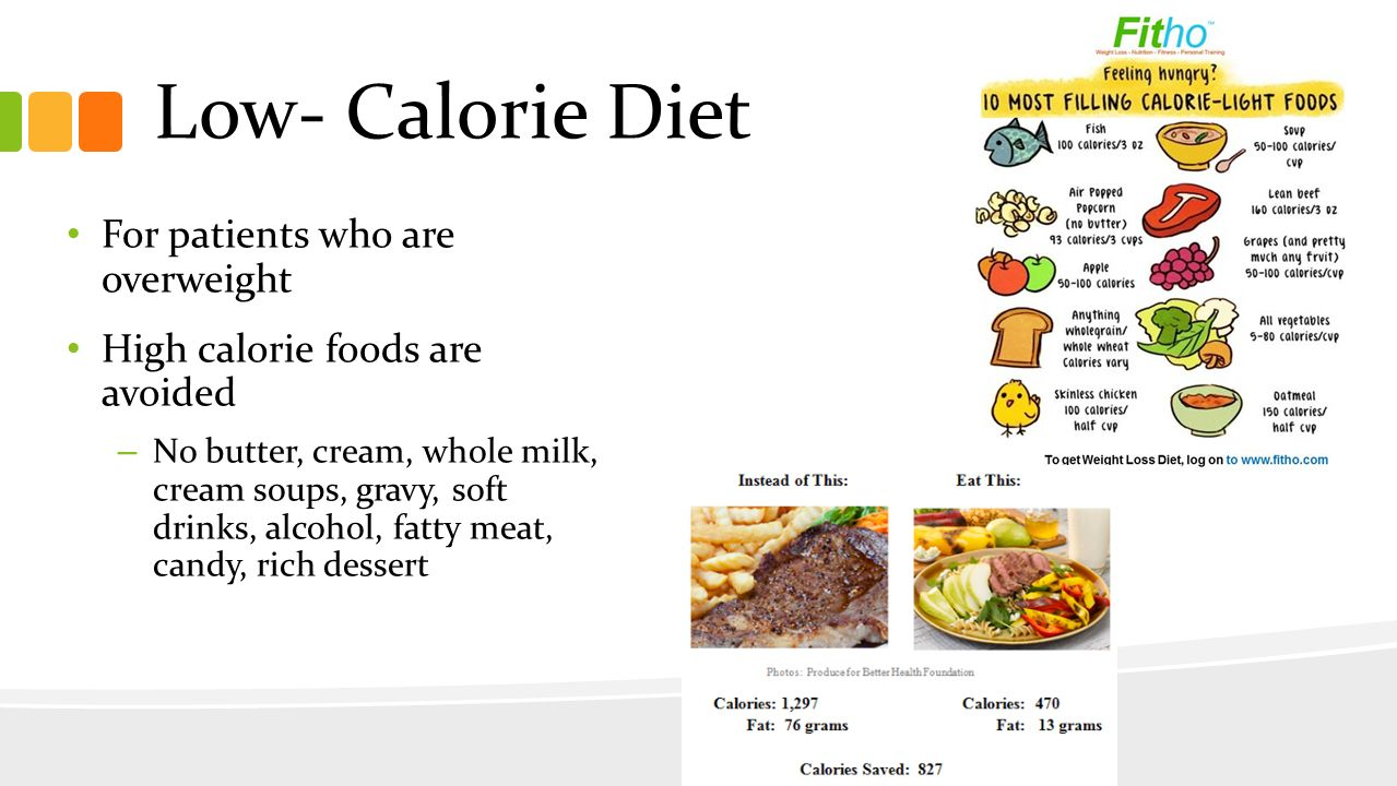 Low Calorie Carbohydrates Foods
