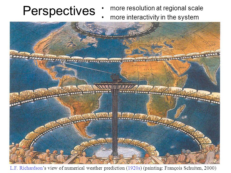 Perspectives more resolution at regional scale