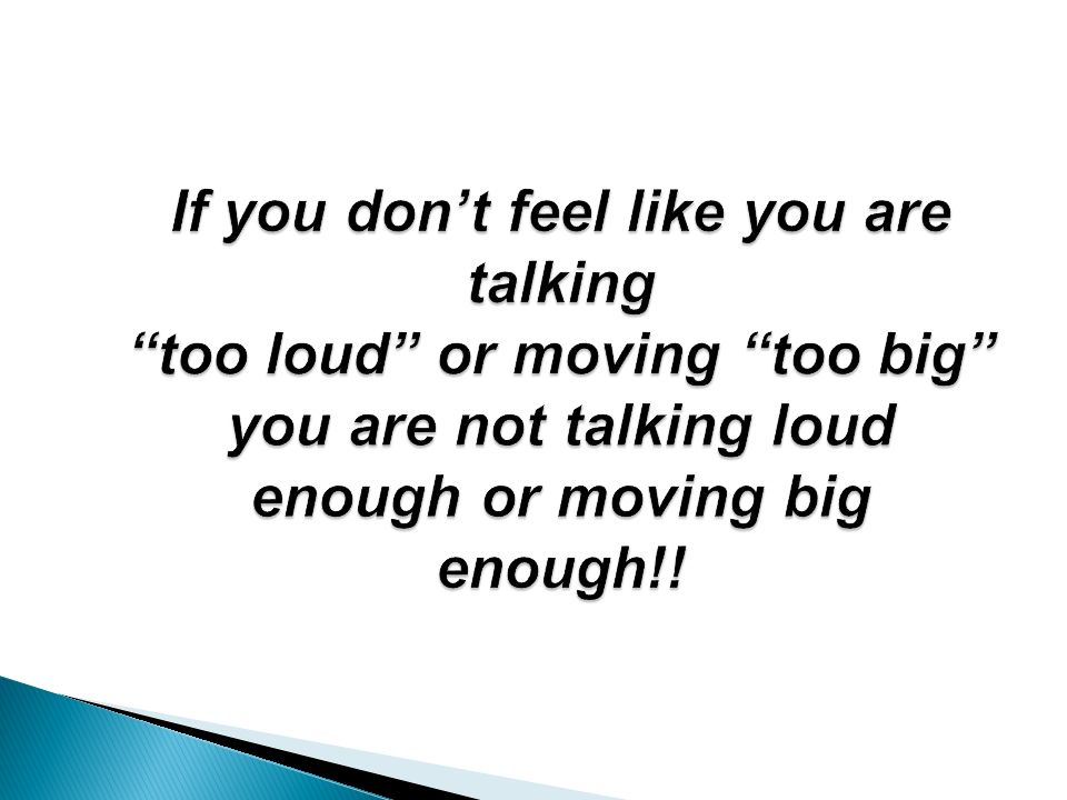 You Talk Too Loud Parkinson's Disease:...