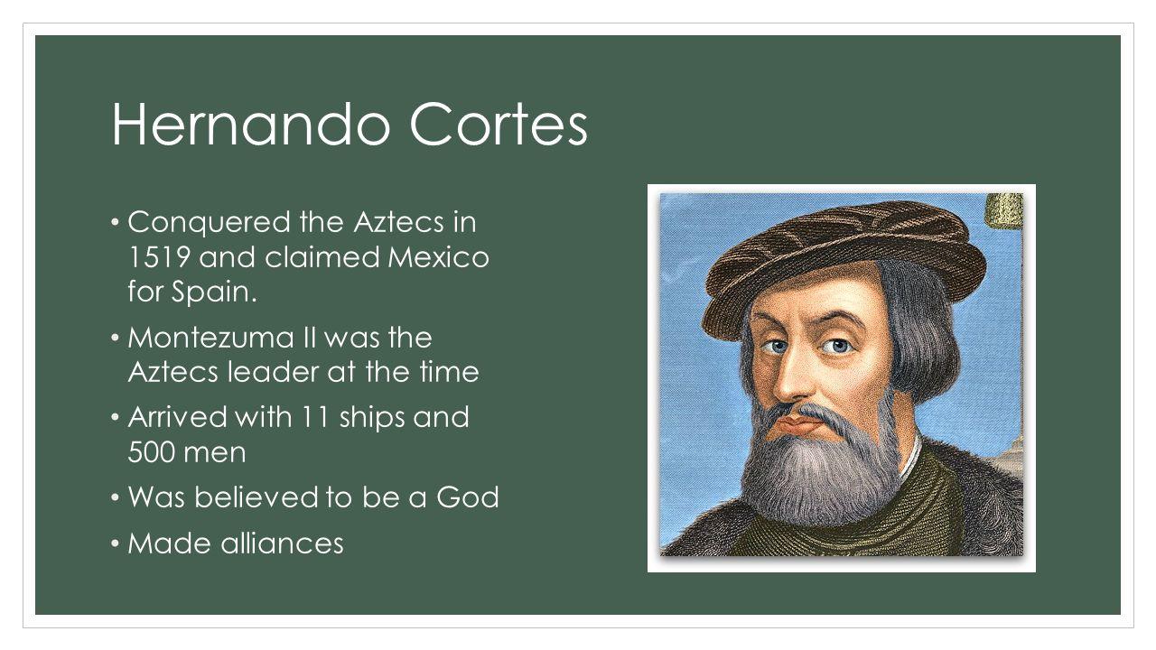 hernando cortes conquered mexico essay