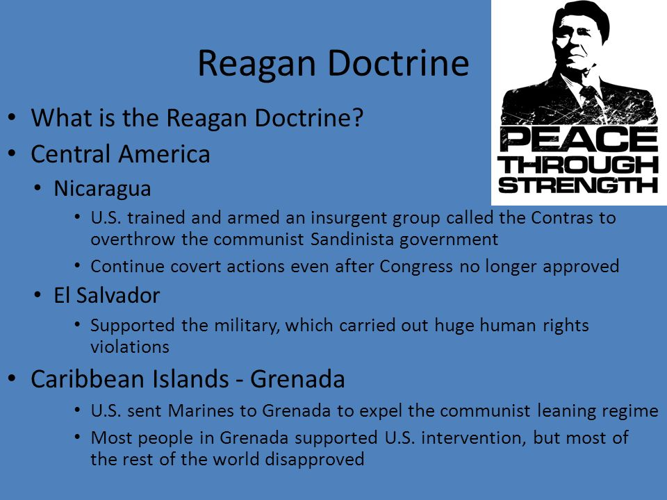 The Reagan Doctrine