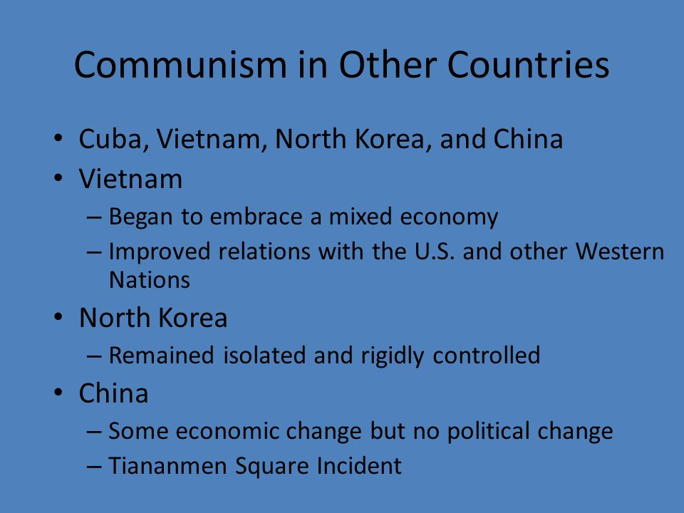 What Are the Positives and Negatives of Communism?