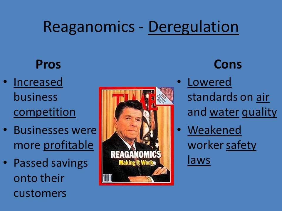 ronald reagan and reaganomics Reaganomics and black americans by arthur l toison january, 1981, president ronald reagan entered the white house with one needed mandate from the american people: put the sluggish united states eco- nomic system in order,1 for he felt himself committed to the nation's traditional capitalist orientation.