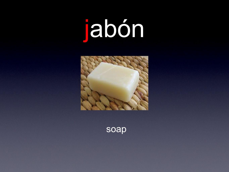 jabón soap