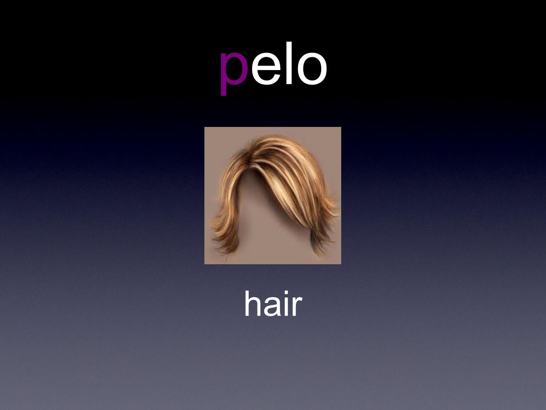 pelo hair