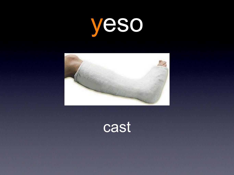 yeso cast