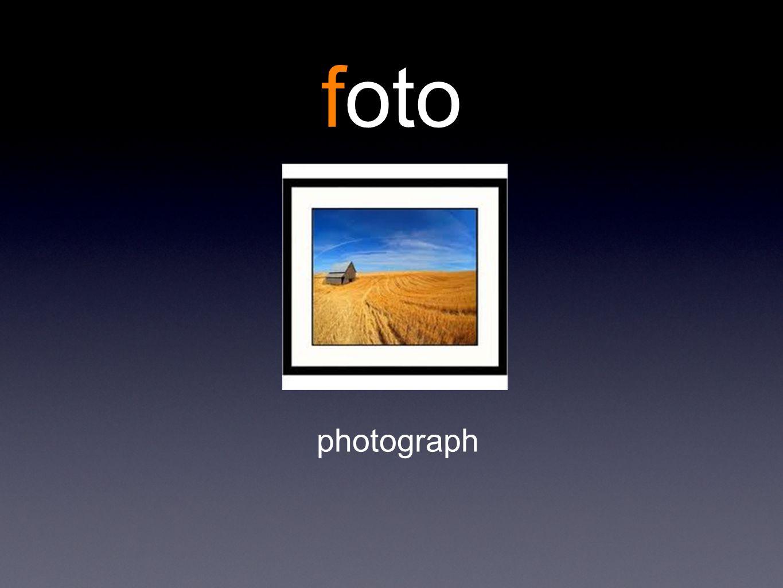 foto photograph