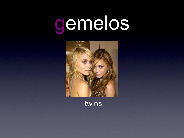 gemelos twins