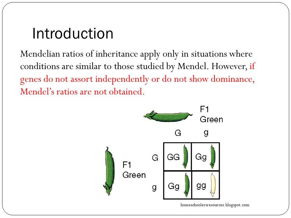 Mendel's Deviations