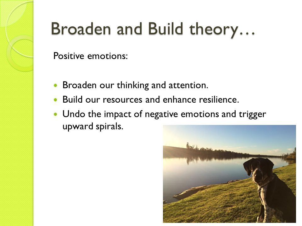 positive psychology impact From coach to positive psychology coach peter l berridge mr university of pennsylvania, pete@shorebirdcoachingcom  behavioral approaches to coaching, the impact of positive emotions on behavior change, and the  positive psychology coach 8 impact of visual learning next, i share how i will use some of these insights in my own.