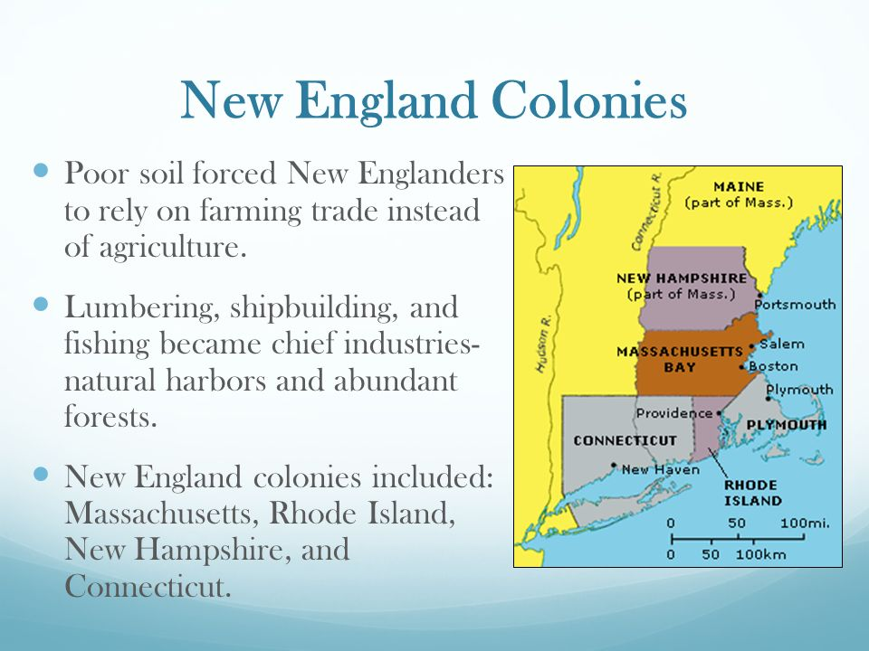 important factors of colonial new england The early english colonies the sat ii test will focus on the particularly important english colonies of were unprepared for the harsh new england winter.