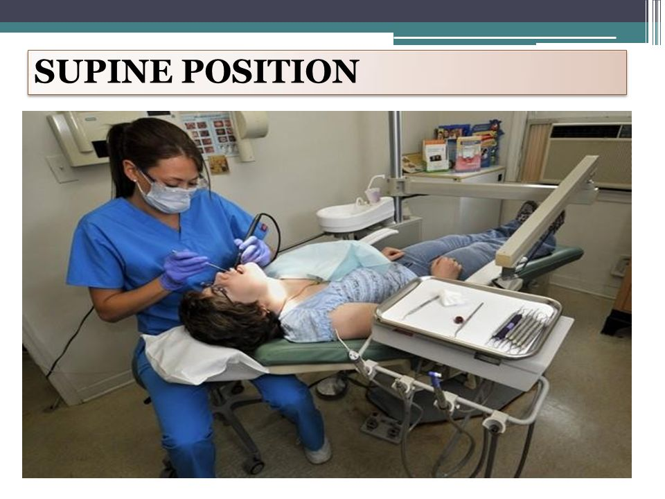 community dentistry II OPERATOR POSITIONING PATIENT ...