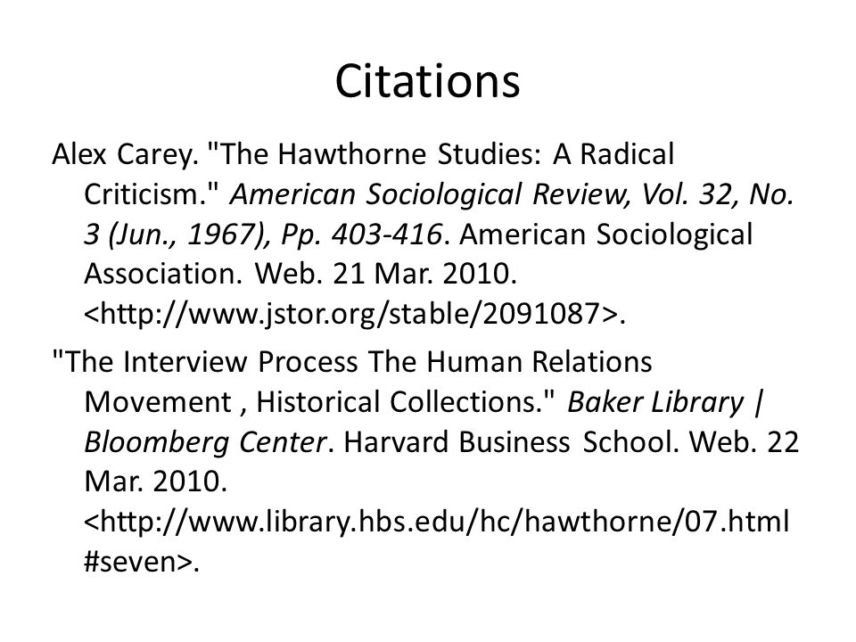 critique of the hawthorne experiments L'effet hawthorne,  contrôlent l'effet hawthorne » [5] critique  manufacturing knowledge: a history of the hawthorne experiments, cambridge, cambridge.