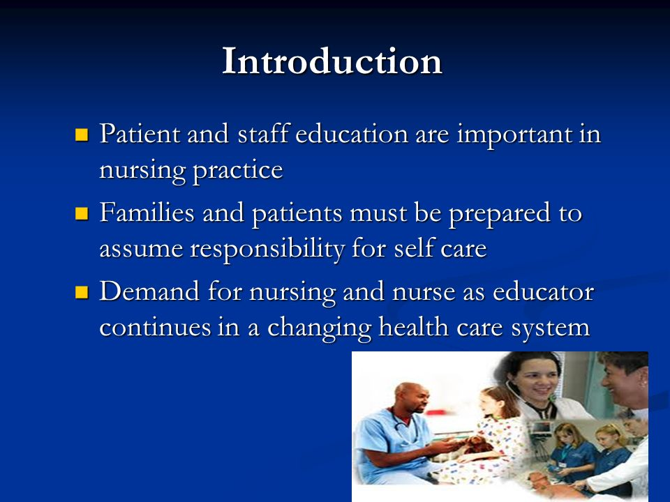 explain how important the nurse patient The fact that the patient is the most important person in a medical care system must be recognised by all those who work in the system this single factor makes a significant difference to the patient care in any hospital.