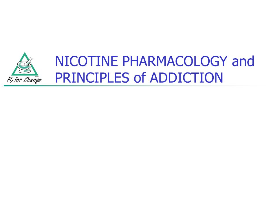 pharmacology report on nicotine Effects of menthol on nicotine pharmacokinetic, pharmacology pharmacokinetic, pharmacology on nicotine pharmacokinetic, pharmacology and dependence.