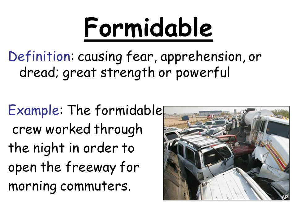Beautiful 2 Formidable Definition: ...