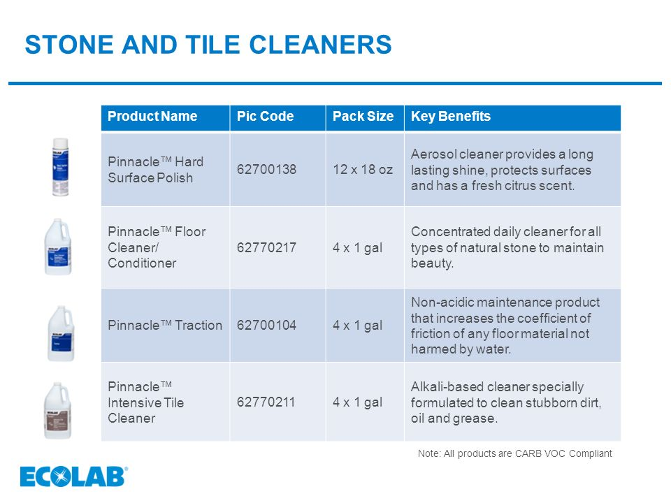 Ecolab\'s stone Care Program - ppt video online download