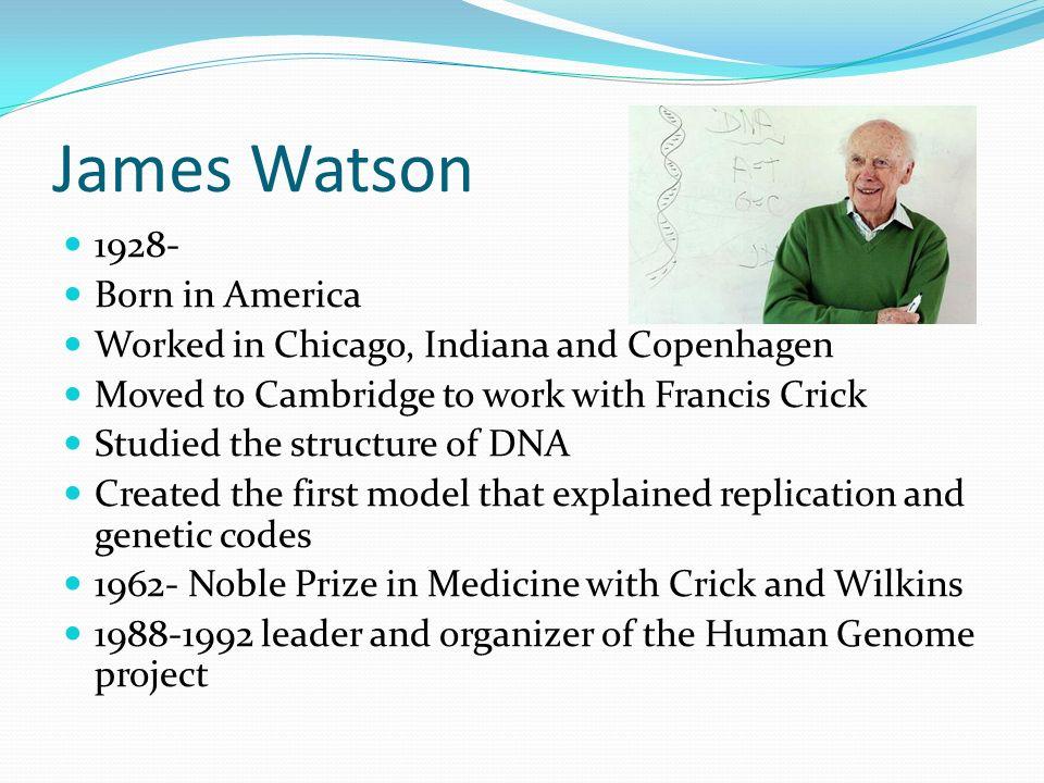 9 james watson francis crick