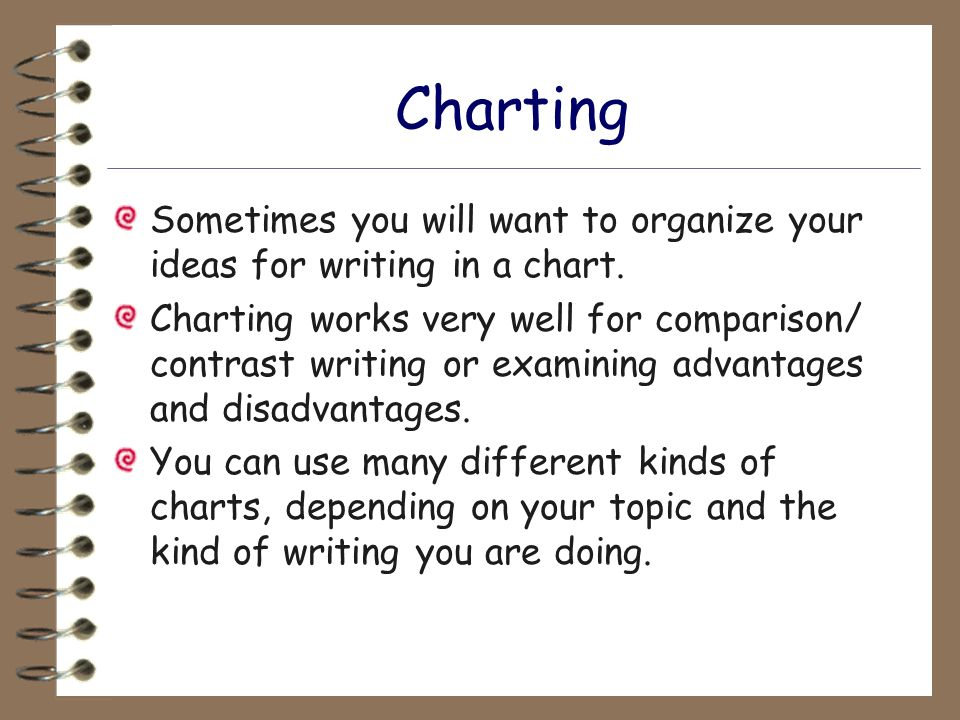 organizing compare and contrast essays There are two common ways of organizing the body of a compare-contrast essay:  whole-to-whole or part-to-part after formulating an acceptable working thesis,.