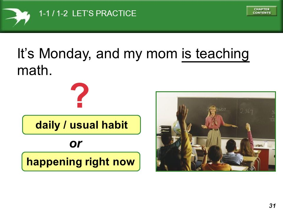 image Mom and geometry teacher