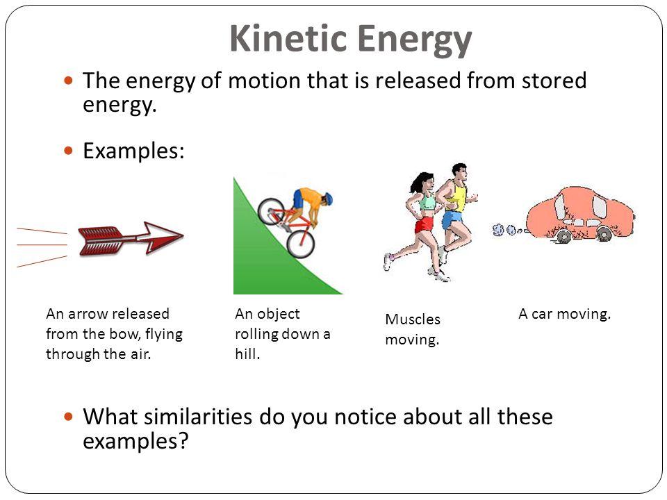 Kinetic Energy Examples | www.pixshark.com - Images ...