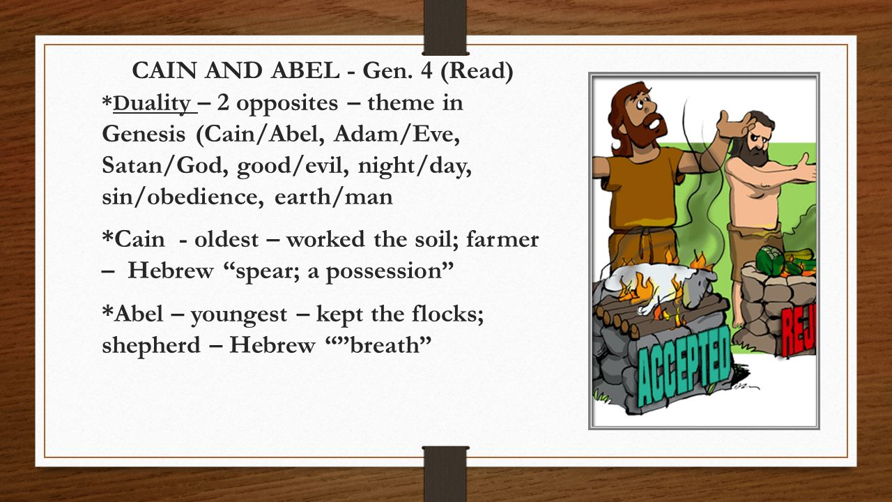 cain and abel ppt video online download