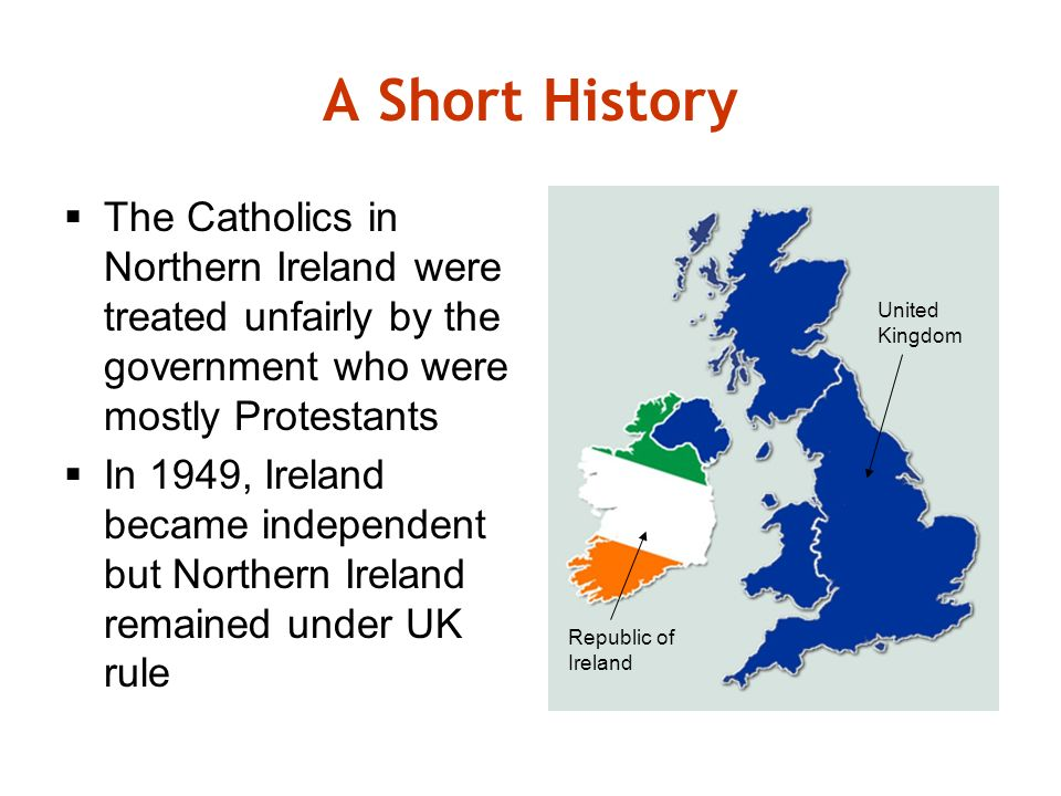 Northern Ireland: A brief background to the conflict