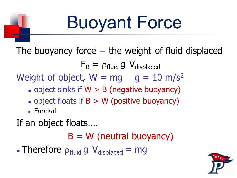 physics bouyancy Get information, facts, and pictures about buoyancy at encyclopediacom make research projects and school reports about buoyancy easy with credible articles from our free, online.
