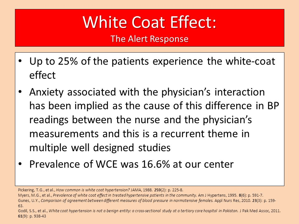 White Coat Hypertension Definition - All The Best Coat In 2017