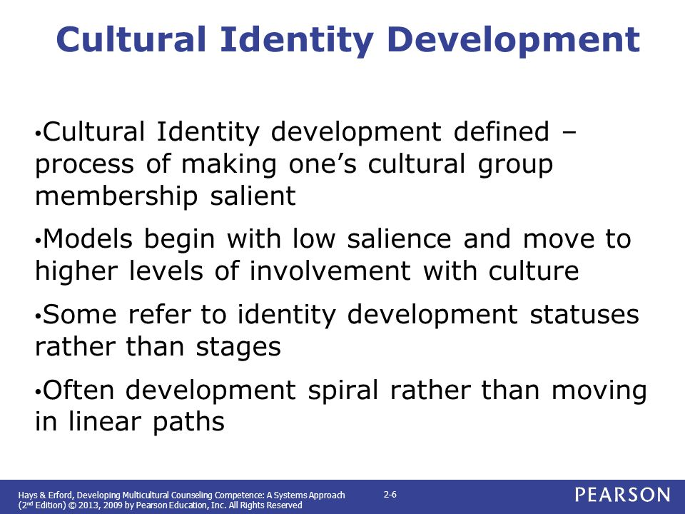 racial cultural identity development New perspectives on racial identity development, second edition takes a critical look at how race and racial identity are experienced and understood given the changing demographics of the united states.