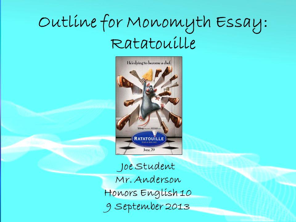 monomyth essay