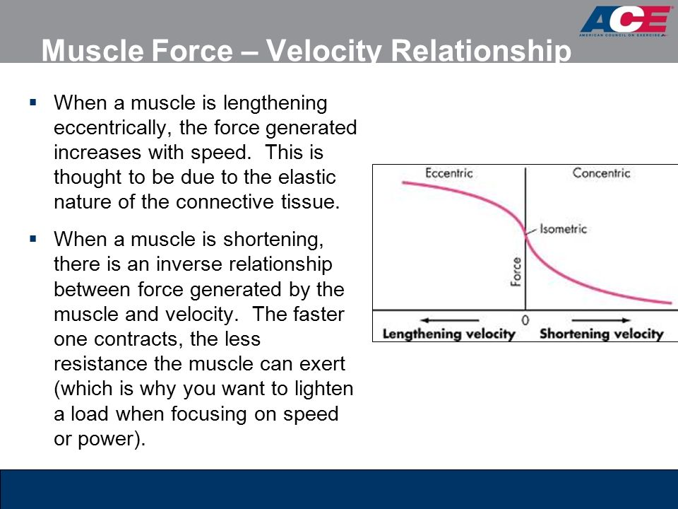 what is the relationship between force and speed squared