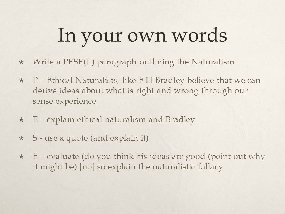 in your own words Only in the process of putting these ideas into your own words, making them your own, will you really come to understand them that is the main reason why as a student you will often be told.