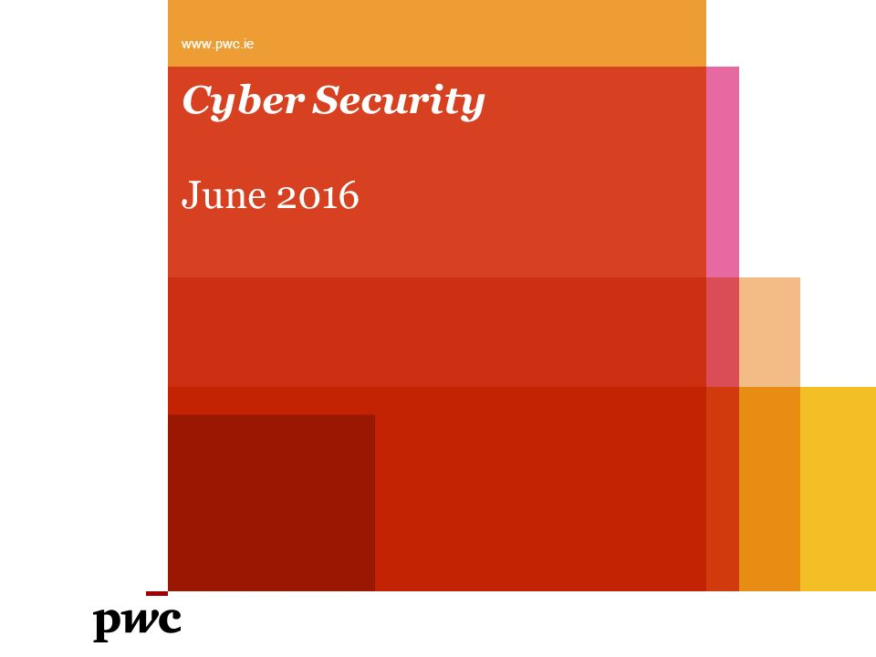 Cyber Security June 2016