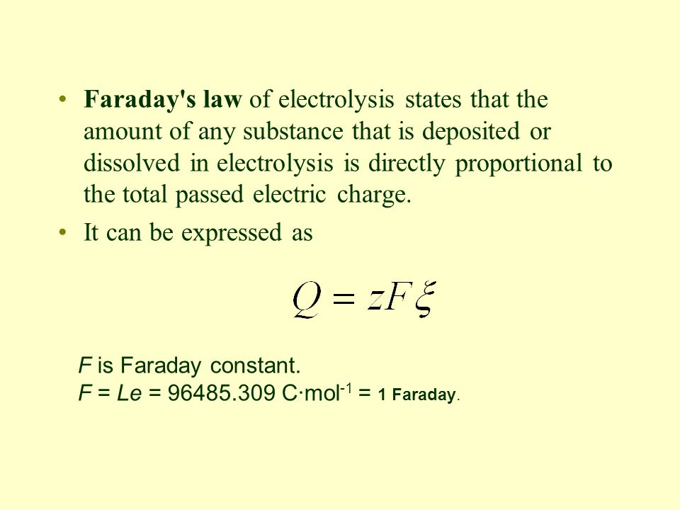 Chapter 7 Electrochemistry - ppt video online download