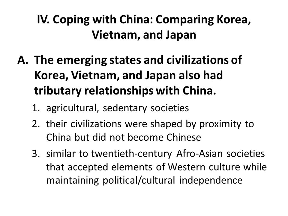 comparing and contrasting japan and vietnam Comparison and contrast essay then the comparison/contrasting technique will help you to develop your contention comparison/contracting techniques one of the most effective ways of comparison/contracting techniques is the drawing of venn diagram.