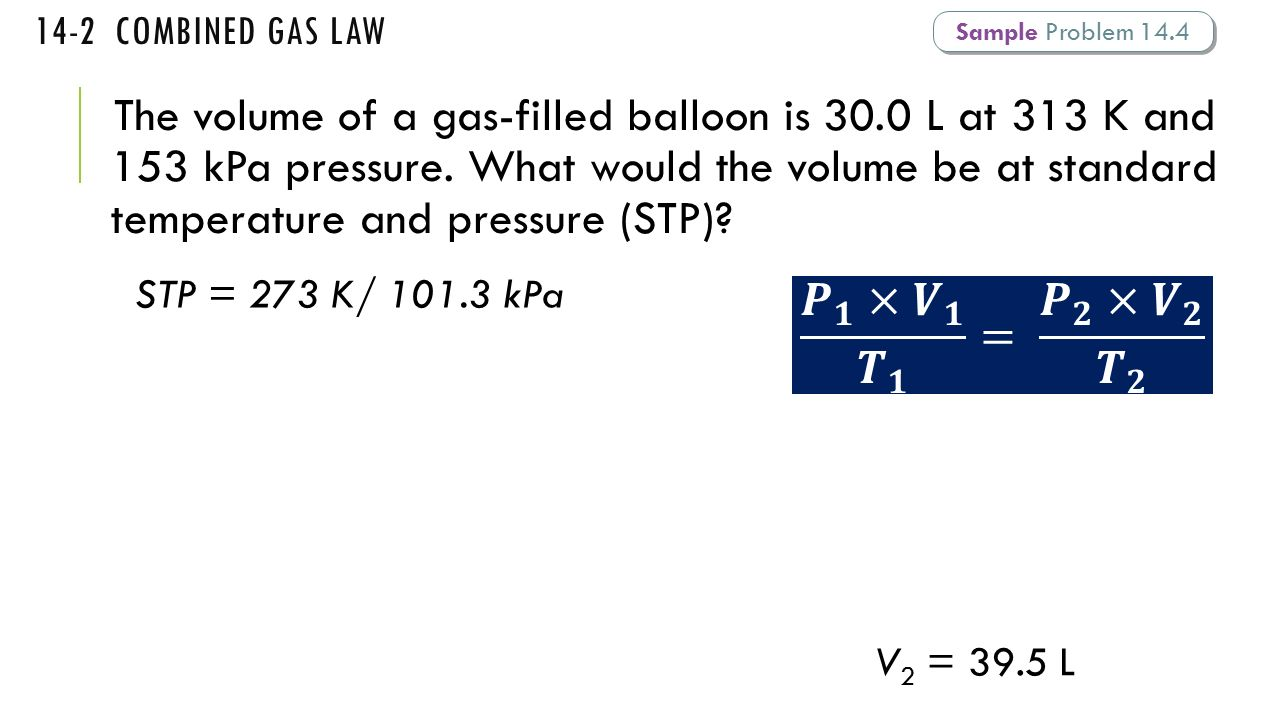 Bell ringer date why does a collision with an inflated air bag 14 2 combined gas law sample problem 144 robcynllc Image collections