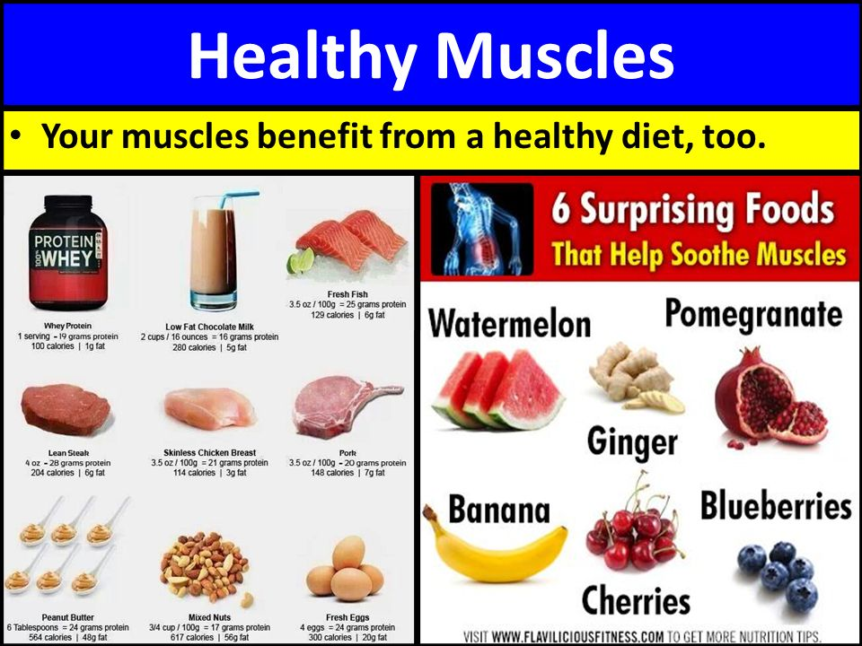Food For Healthy Muscles And Joints