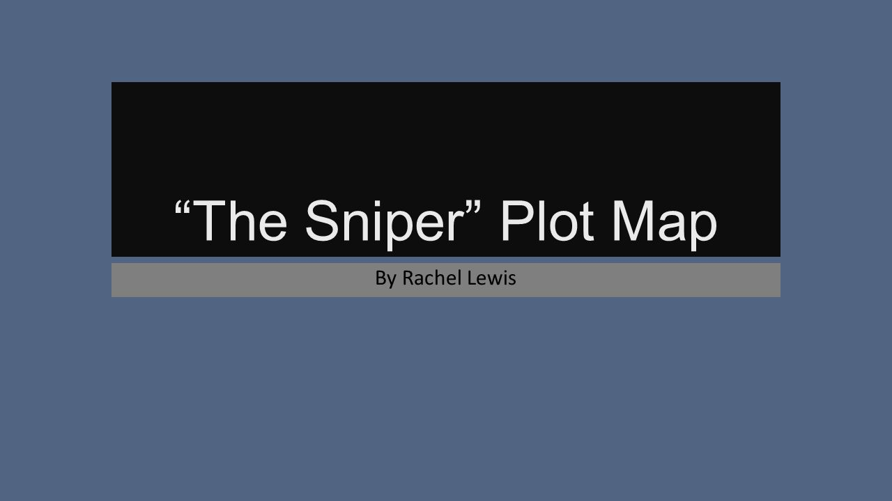 the sniper short story plot