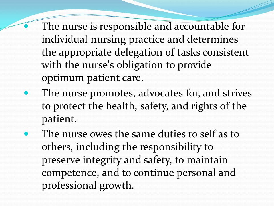 nurses the patients best advocates essay Nurses must be advocates for their patients  typically, nurses are the healthcare workers with the most interpersonal contact with patients the nurse often is in the best position to act as the liaison between patient and family and other team members and departments.