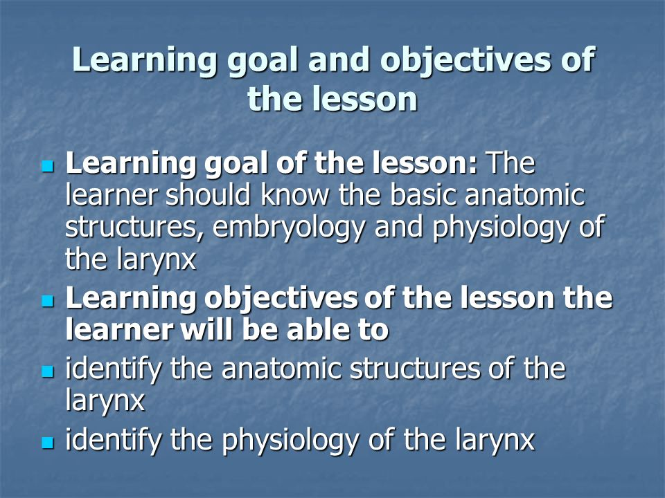 ANATOMY AND PHYSIOLOGY OF THE LARYNX - ppt video online download
