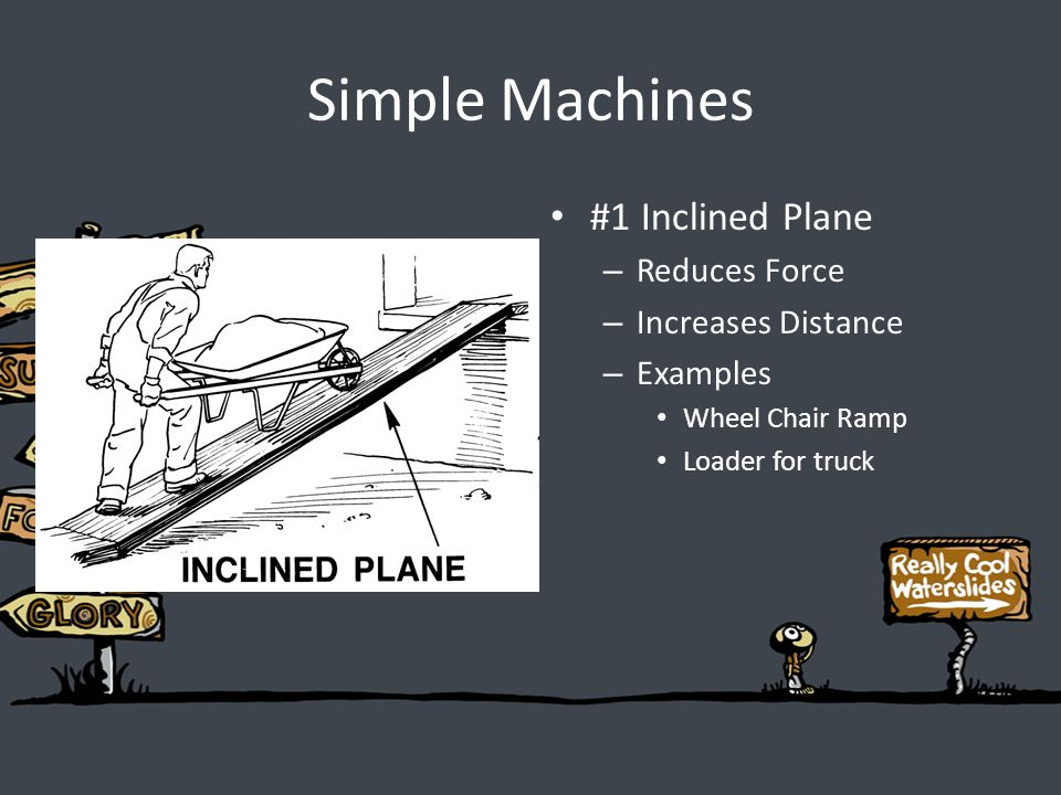 how to build a wedge simple machine