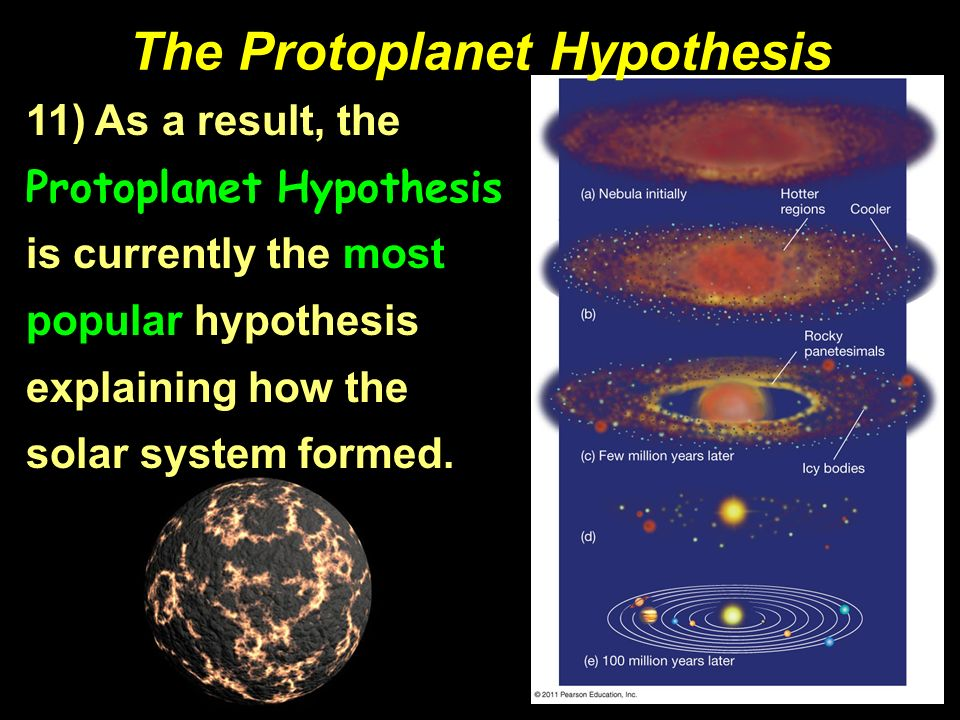 Formation Theories The Solar System III. - ppt video ...