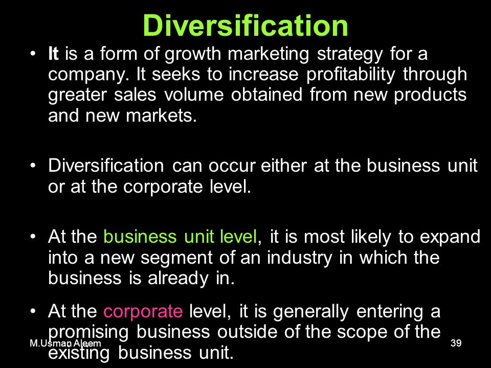 diversification into new businesses marketing essay Cgse business management strategic essays - lvmh: diversification strategy into luxury goods.