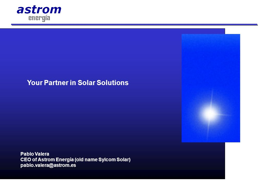 Your Partner in Solar Solutions