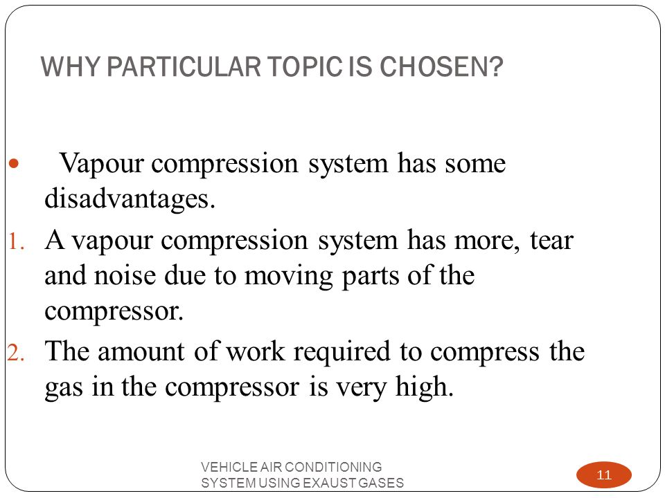 WHY PARTICULAR TOPIC IS CHOSEN