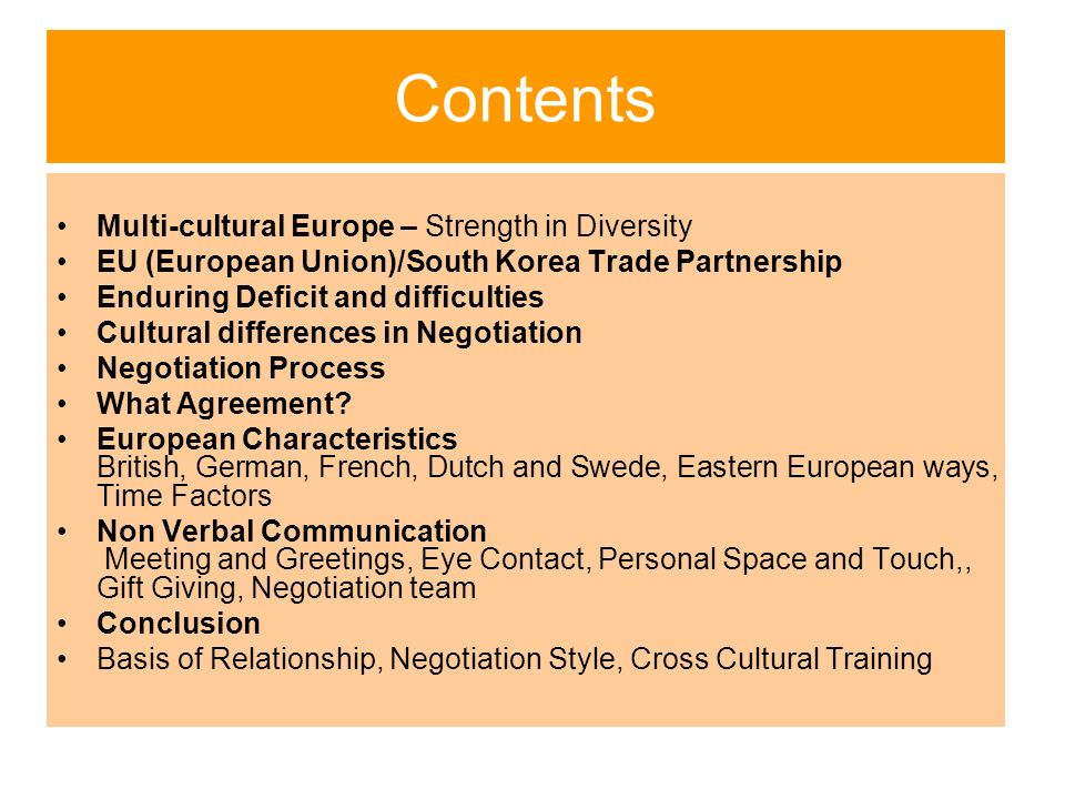 a comparison of french and european trade unions Both the european union (eu)  636 comparison and concluding remarks 100  inta european parliament international trade committee.